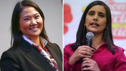 Keiko Fujimori y Verónika Mendoza entre los líderes con mayor aprobación