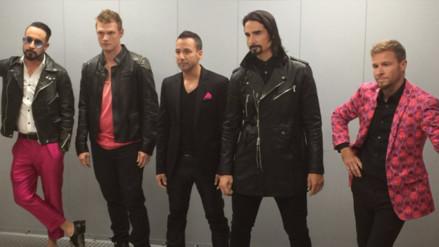 Los Backstreet Boys ofrecen presentación sorpresa