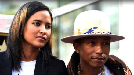 Pharrell Williams será padre por segunda vez