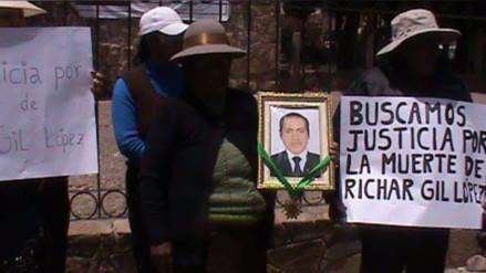 Juliaca: familiares piden justicia por confusa muerte de ciudadano
