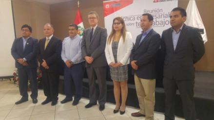 Ministro de Trabajo inauguró el primer módulo de teletrabajo en Chiclayo