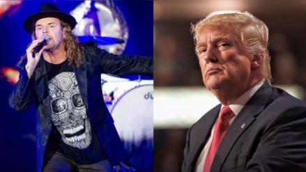 Maná lanza duros calificativos contra Donald Trump en concierto