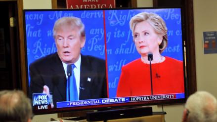 Los ataques que se lanzaron Trump y Clinton en el primer debate
