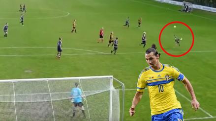 Chalaca en Dinamarca recuerda la obra maestra de Zlatan Ibrahimovic