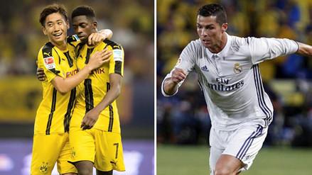 Real Madrid y Borussia Dortmund medirán poderes en la Champions League