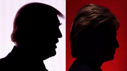 Hillary Clinton y Donald Trump tendrán su primer cara a cara por la presidencia