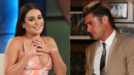 Lea Michele declara su amor por Zac Efron