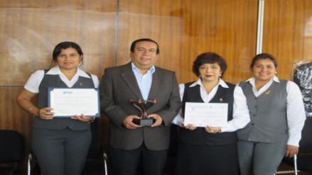 Gerencia de Salud de Lambayeque recibe premio por lucha contra la desnutrición