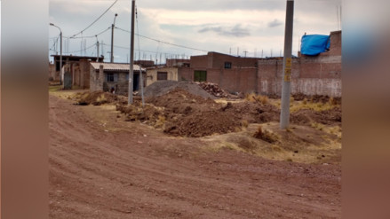 Juliaca: familia denuncia agresión de presuntos traficantes de terrenos