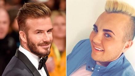 Gastó fortuna para lucir como David Beckham y este fue el resultado