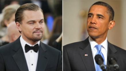 Obama y DiCaprio hablarán de cambio climático en la Casa Blanca