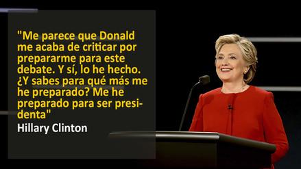Las Frases Del Primer Debate Entre Hillary Clinton Y Donald