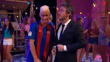 Neymar protagonizó el tema 'La Bicicleta' en parodia del Barcelona