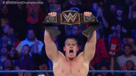 John Cena acabó en pie de guerra ante AJ Styles y Dean Ambrose