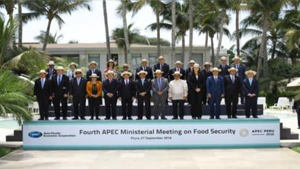 "APEC: suscriben ""Declaración de Piura"" tras reunión ministerial"
