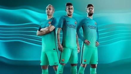 Barcelona estrenará tercera indumentaria en Champions League