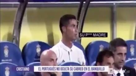 ¿Cristiano Ronaldo insultó a Zidane tras ser cambiado ante Las Palmas?