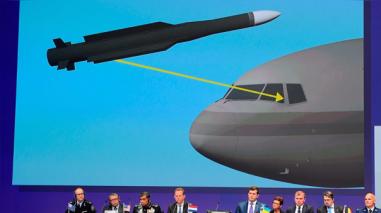 Un misil traído de Rusia derribó el vuelo MH17 en 2014