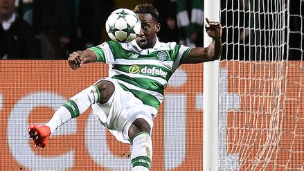 Moussa Dembelé marcó gol acrobático en el 3-3 del Celtic-Manchester City