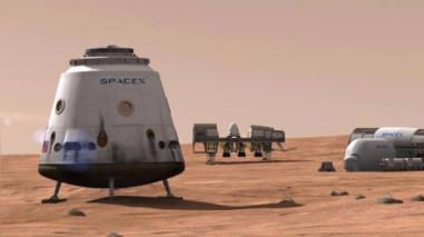 Elon Musk presentó un plan para colonizar Marte en el 2022
