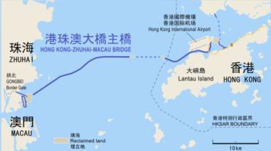 Conoce el puente marítimo más largo del mundo que unirá tres ciudades en China