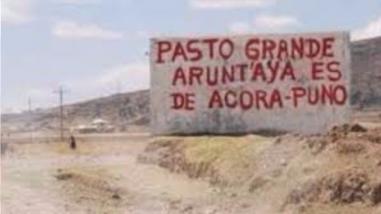 Advierten que Moquegua generaría conflicto social por límites con Puno