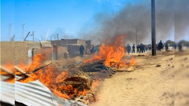 Trujillo: desalojan a más invasores en La Esperanza