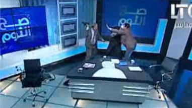 YouTube: un abogado y un religioso se pelean en pleno programa en vivo