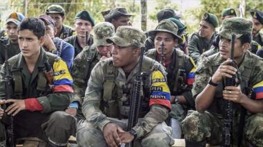 Las FARC comienzan a entregar explosivos a la ONU