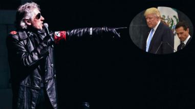 Roger Waters arremetió contra Donald Trump y Enrique Peña Nieto en México