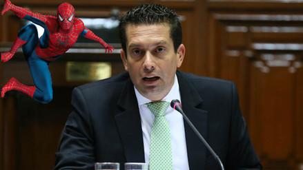Congresista de Fuerza Popular citó la frase de Spiderman
