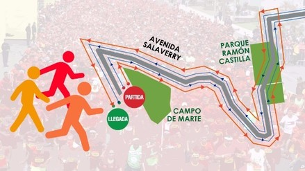 Estas son las rutas 10K y 21K de la Maratón RPP 2016