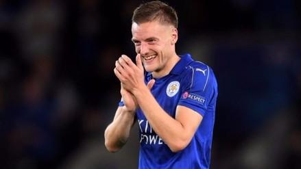 Jamie Vardy prefiere el contragolpe del Leicester City que el toque del Arsenal