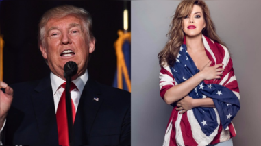 "Donald Trump llama ""asquerosa"" a Alicia Machado y pide que vean su video sexual"