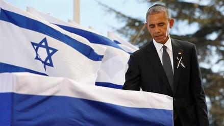 Obama exhorta a Israel a retomar el camino de la paz en funeral de Peres
