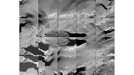Las fotos tomadas por Rosetta antes de estrellarse contra el cometa 67P