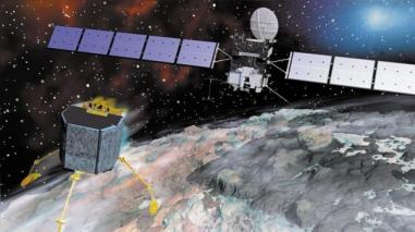 La sonda Rosetta concluyó su misión tras aterrizar sobre su cometa