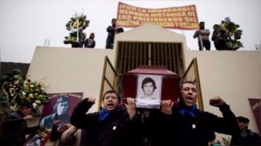 Familiares de senderistas se oponen a la demolición del mausoleo en Comas