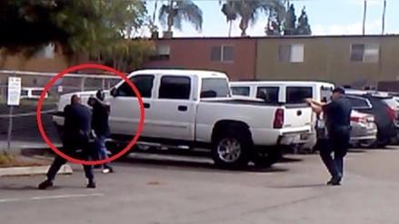La Policía difundió el video del afroamericano asesinado en San Diego