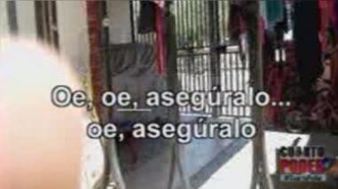 Vídeo registra la ejecución de un delincuente a manos de policías en Piura