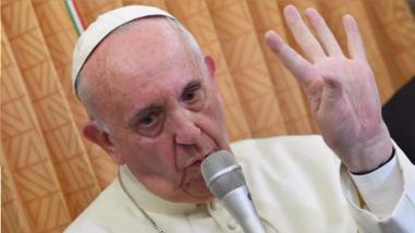 El papa asegura que irá a Colombia cuando el proceso de paz esté blindado
