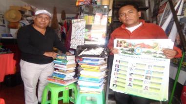 Donan libros a colegios rurales de Colaya y Corral de Piedra