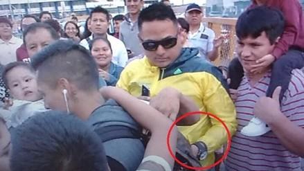 Raúl Ruidíaz sufrió intento de robo a su llegada a Lima