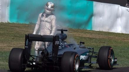 Hamilton explotó contra Mercedes:
