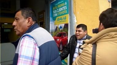Cajamarca: Vigilante de empresa de telefonía habría agredido a usuario