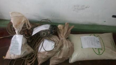 Chimbote: pareja de esposos son capturados con explosivos para mina ilegal