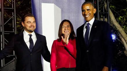 Obama y DiCaprio unidos contra el cambio climático