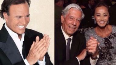 Julio Iglesias se declaró admirador de Mario Vargas Llosa