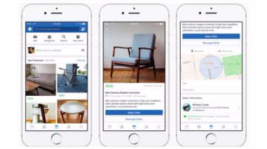 Facebook presentó Marketplace, su espacio de compraventa