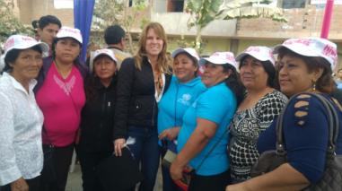 Cayetana Aljovín: anuncia lucha contra anemia y desnutrición en Trujillo